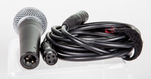 mic and XLR cable